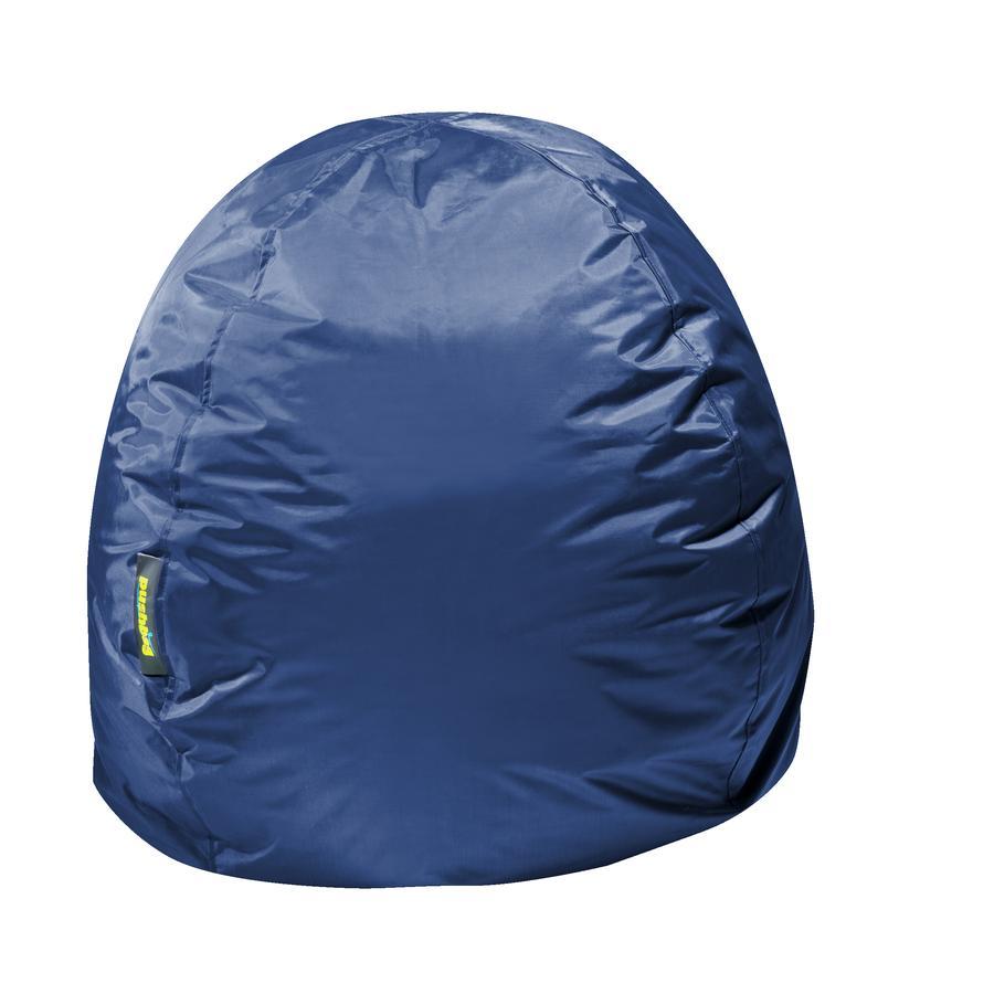 pushbag Pouf enfant rond Bag300 Oxford bleu marine