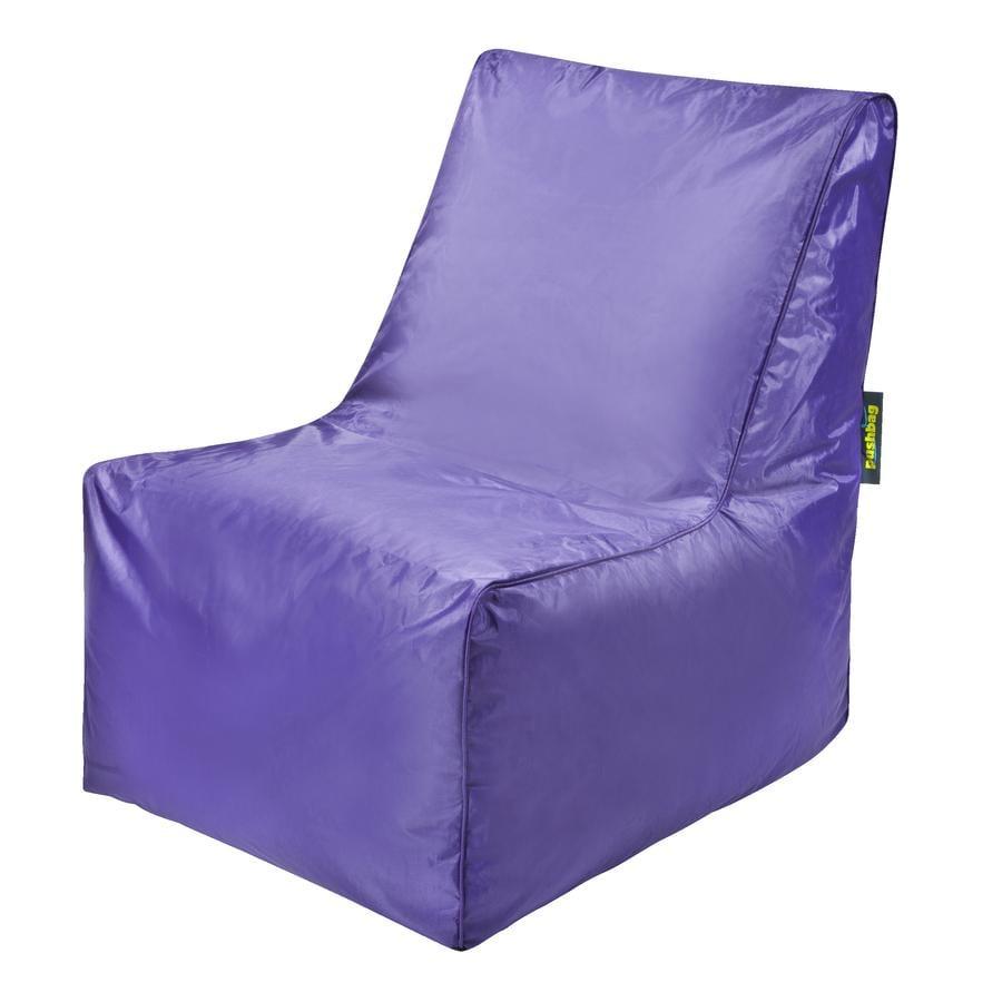 pushbag Pouf fauteuil enfant Block Oxford pourpre