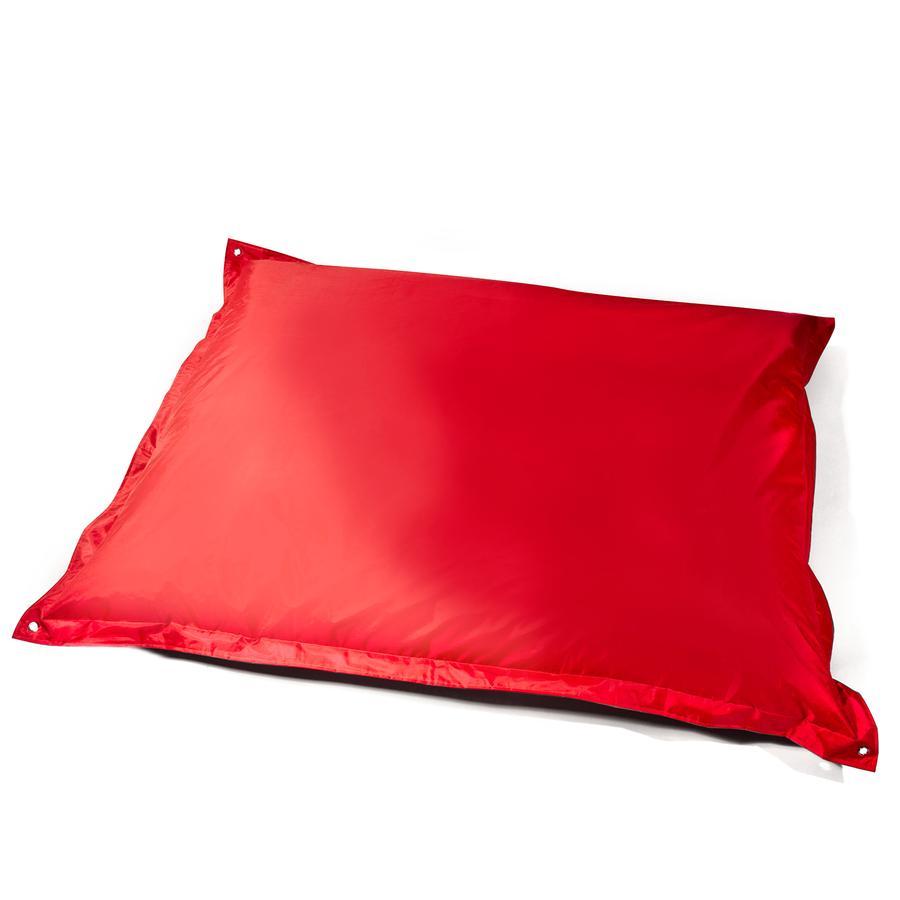 pushbag Pouf cuscino rettangolare Classic Oxford rosso