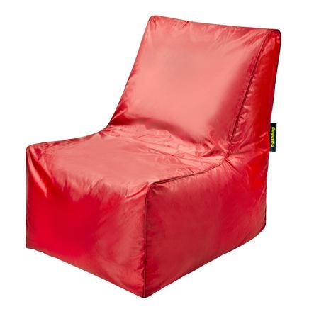 pushbag Sitzsack Block Oxford red