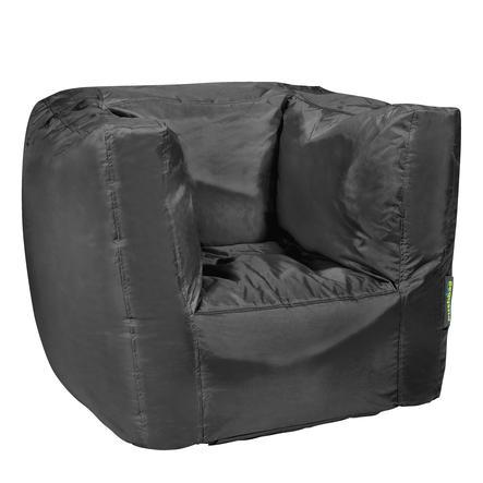pushbag Sitzsack Cube Oxford black