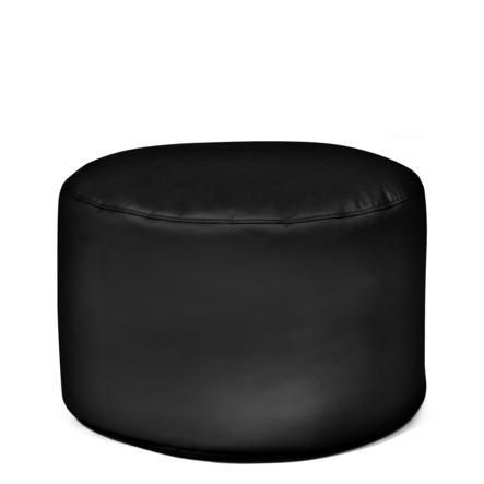 pushbag Sitzsack Drum Kunstleder black
