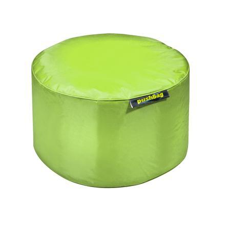 pushbag Pouf enfant rond Drum Oxford lime