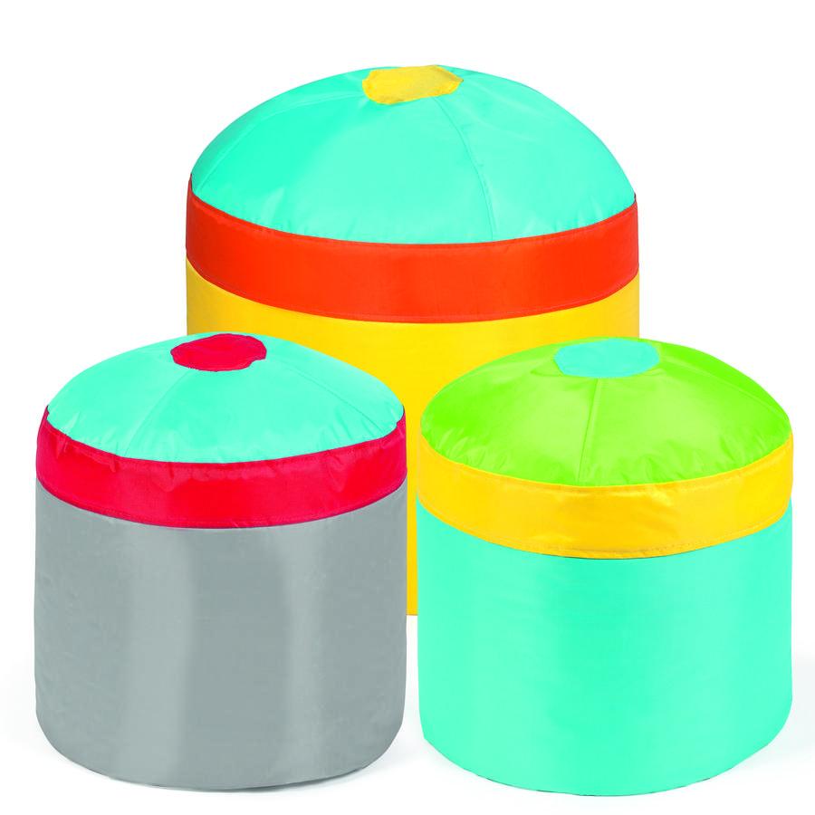 pushbag Sitzsack Cupcake Set 3-teilig