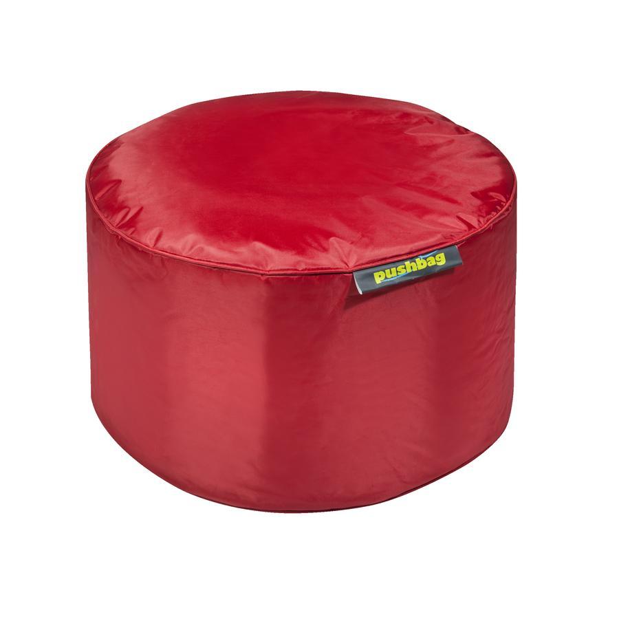 pushbag Beanbag Drum Oxford červený