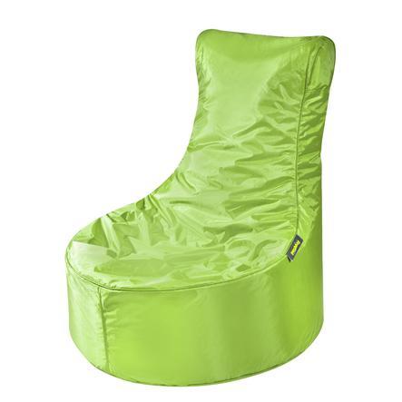 pushbag Sitzsack Seat Oxford lime