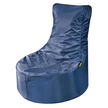 pushbag Pouf enfant Seat Oxford bleu marine