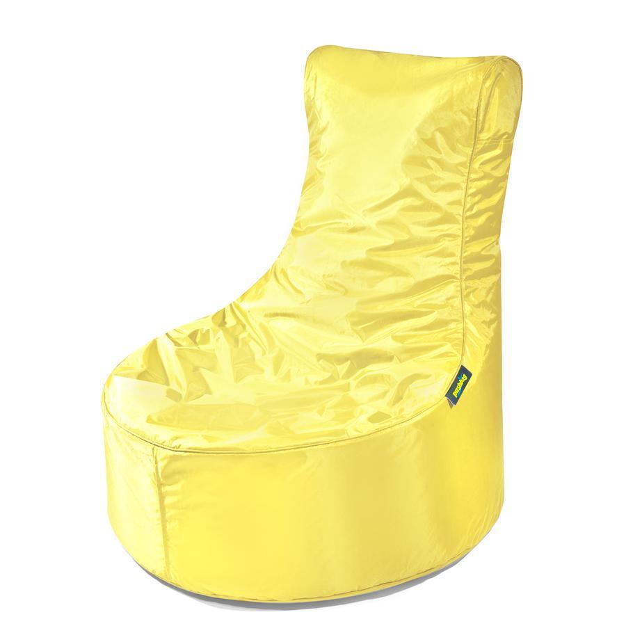pushbag Pouf enfant Seat Oxford jaune