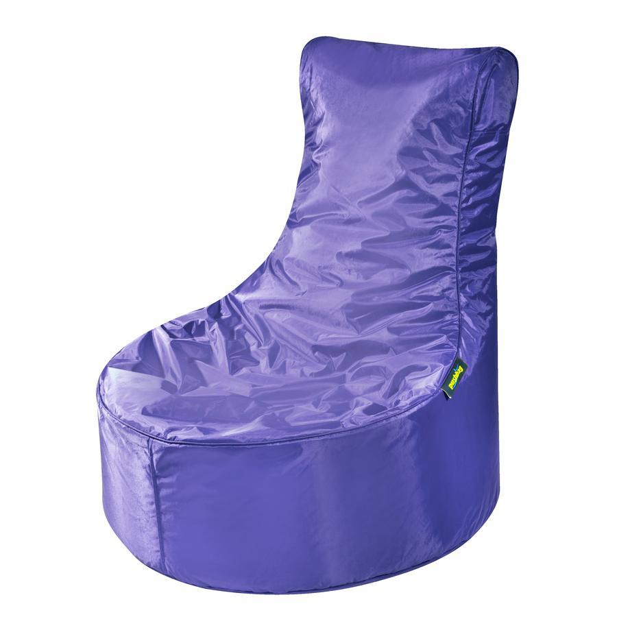 pushbag Sitzsack Seat Oxford purple