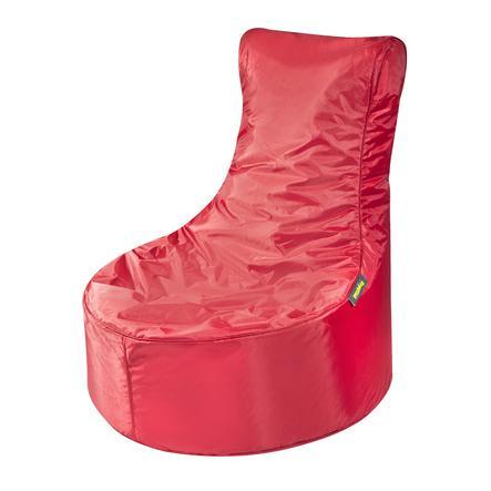 pushbag Sitzsack Seat Oxford red