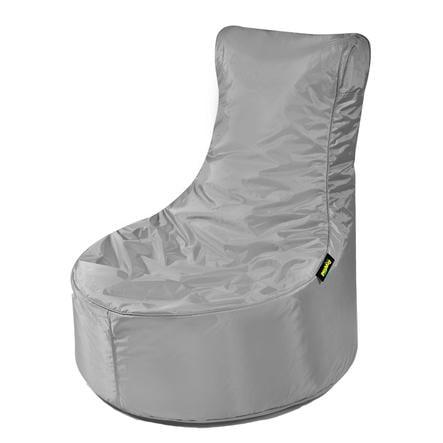 pushbag Sitzsack Seat XS Oxford grey