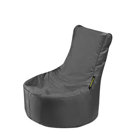 pushbag Sitzsack Seat XS Oxford black