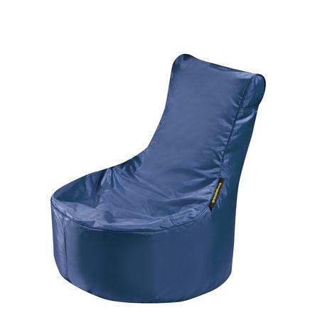 pushbag Pouf enfant Seat XS Oxford bleu marine