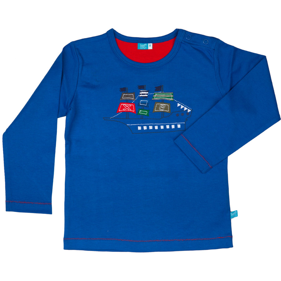 LIEF! Boys Mini Longsleeve strong blue