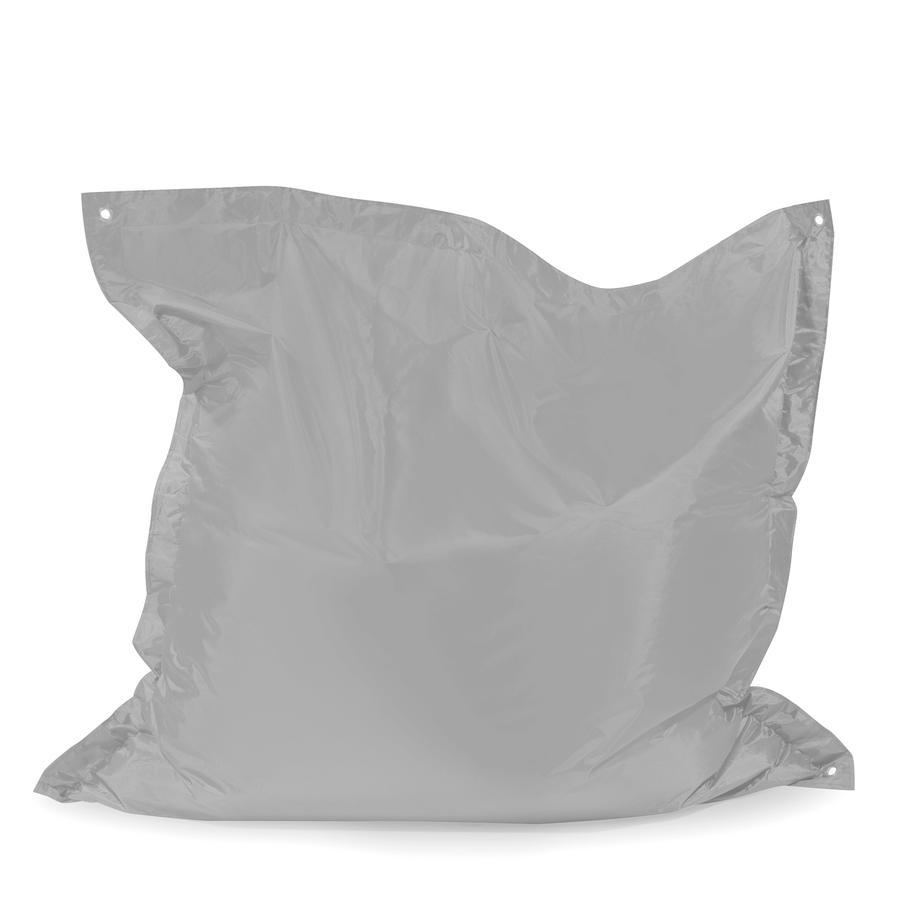 pushbag Pouf enfant Square Oxford gris