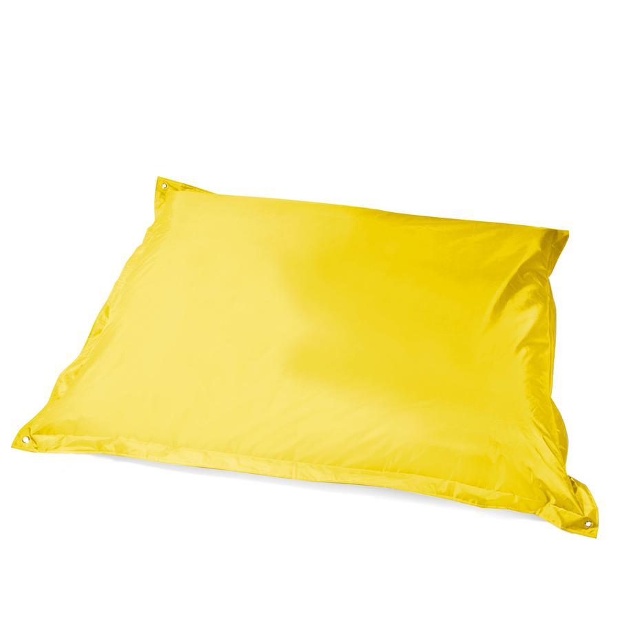 pushbag Sitzsack Square Oxford yellow