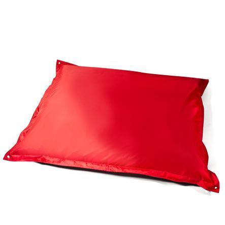 pushbag Sitzsack Square Oxford red