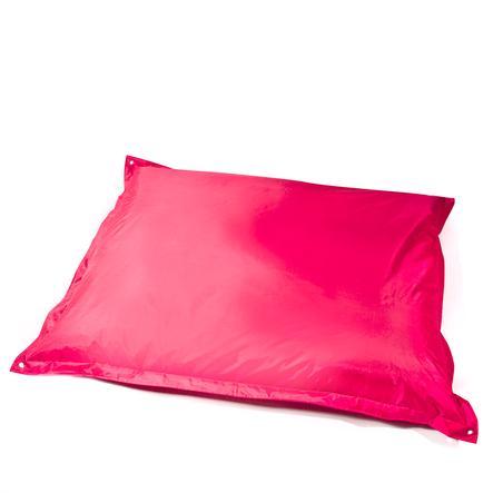 pushbag Sitzsack Square Oxford pink