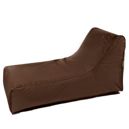 pushbag Puff tumbona Oxford brown