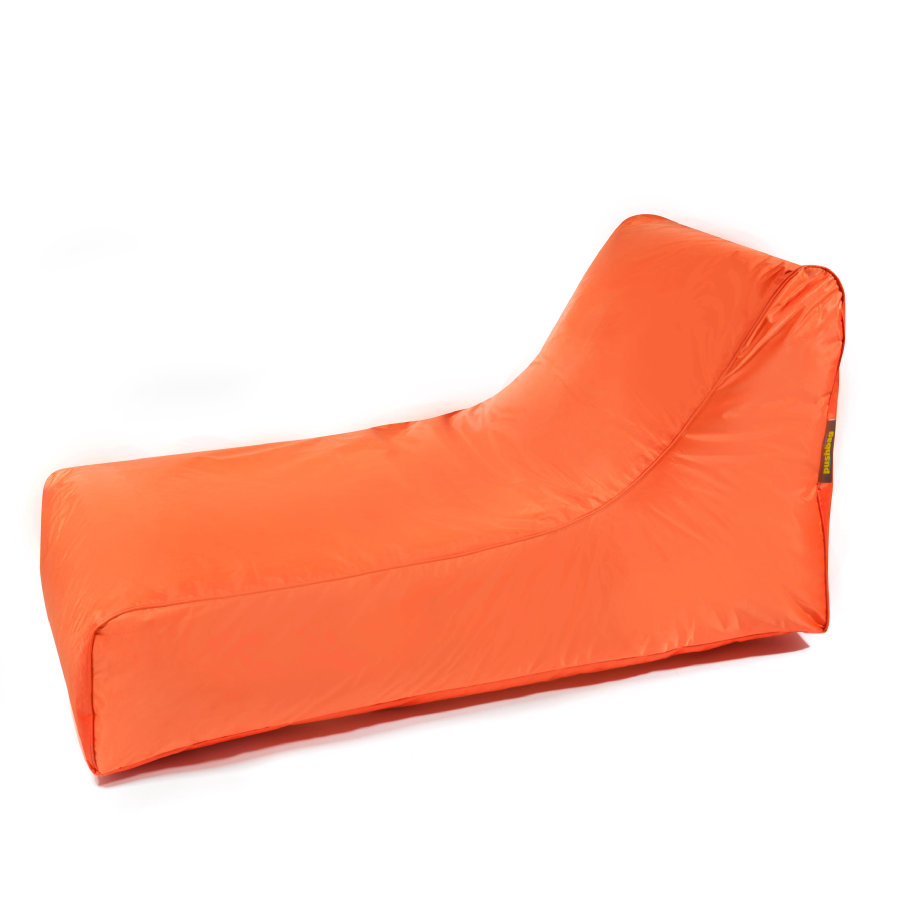 pushbag Pouf canapé à dossier enfant Stretcher Oxford orange