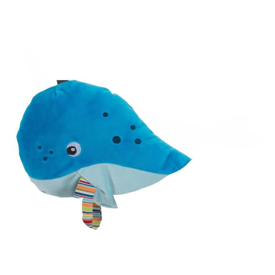fashy Tepelný polštář s výplní z řepky velryba