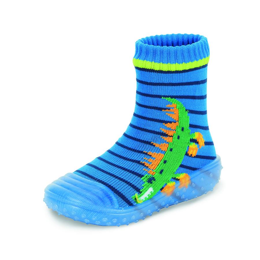 Sterntaler Adventure-Socken Krokodil blau