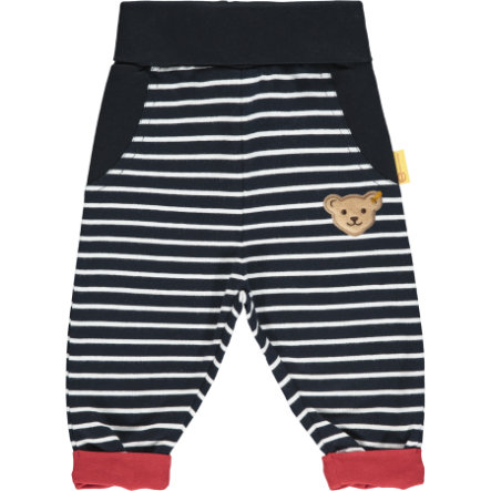 Steiff Pantalones de jogging azul marino