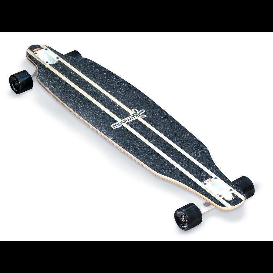 AUTHENTIC SPORTS Planche à roulettes enfant longboard bois