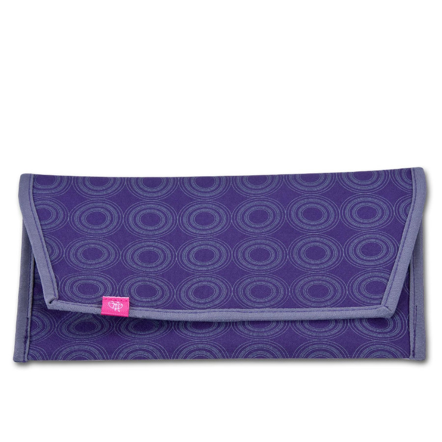 LÄSSIG Casual Nappy Bag für Windeln dark purple/ash