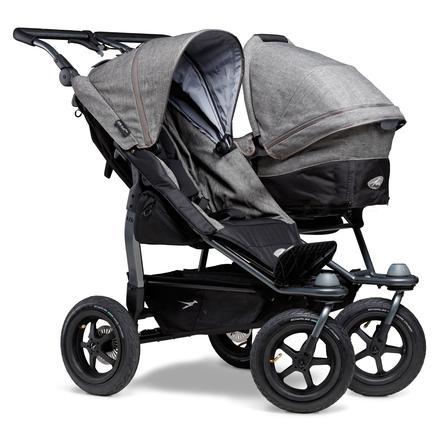 tfk Sibling Stroller Duo Air Premium Grigio