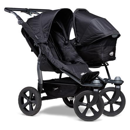 tfk Wózek dla rodzeństwa Stroller Duo Ecco Black