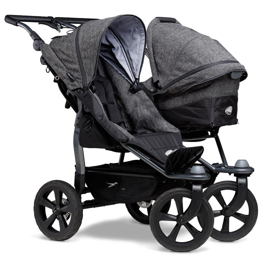 tfk Wózek dla rodzeństwa Duo Ecco Premium Anthracite