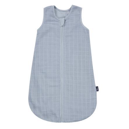 Alvi® Mullschlafsack uni blau