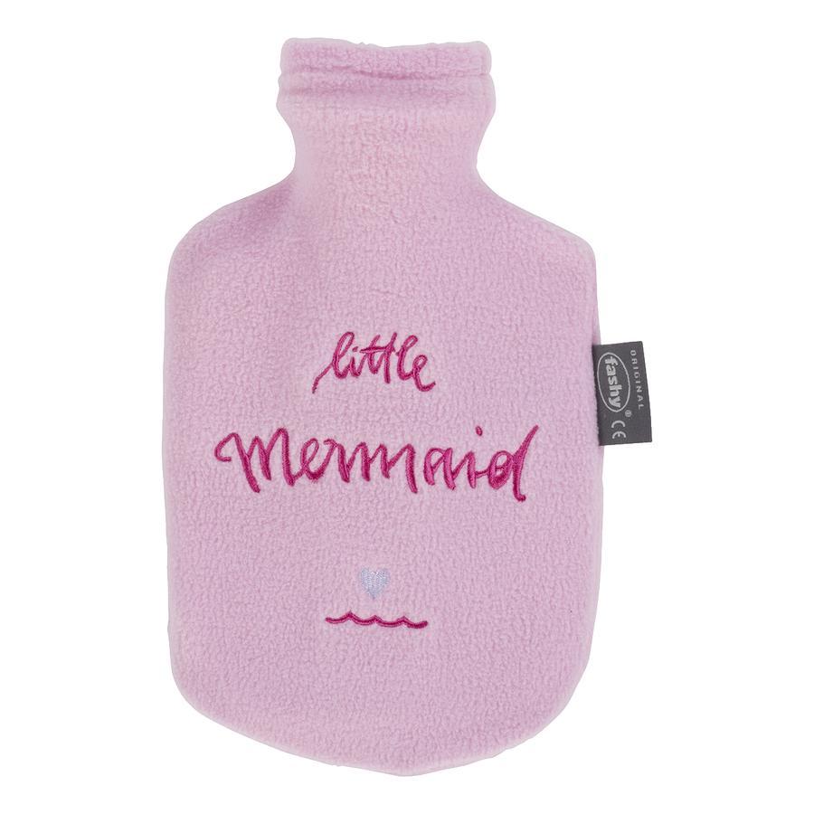 fashy Wärmflasche mit Bezug Little Mermaid in rosa