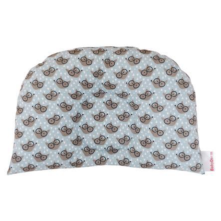 BabyDorm® Kinderwagenkissen BuggyDorm Filou hellblau mit Füchschen