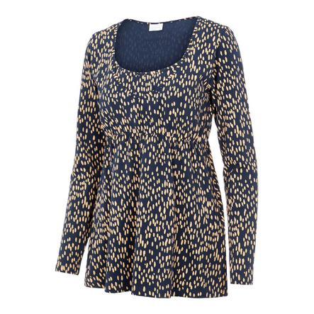 mama licious Nursing Shirt MLIRENA Dress Blues