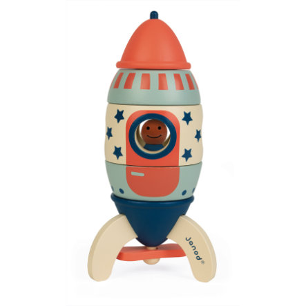 """Janod® Magnetisk sett """"Rocket My Design"