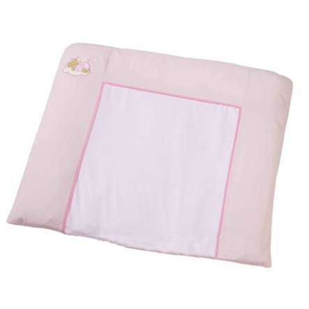 Easy Baby Fabric Changing Pad Sleeping bear Pink(440-82)