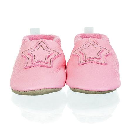 Sterntale baby crawling scarpa di pelle rosa