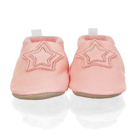 Sterntale Baby-Krabbelschuh Leder rosa