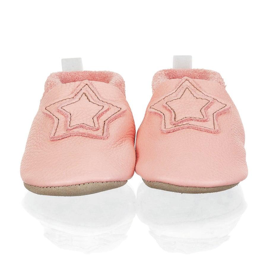Sterntale baby krypsko läderrosa