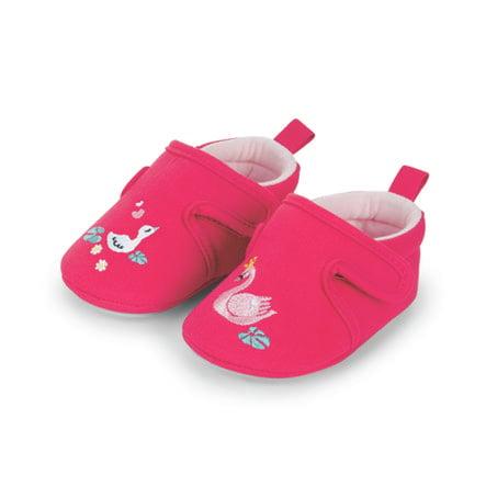Sterntaler bébé crawling shoe rose