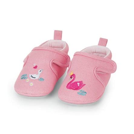 Sterntaler baby crawling sko pink