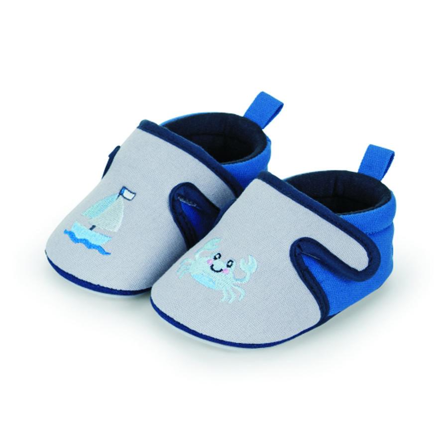 Sterntaler bébé crawling shoe smoke grey