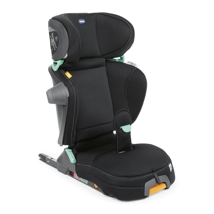 chicco Dětská sedačka Fold & Go i-Size Black