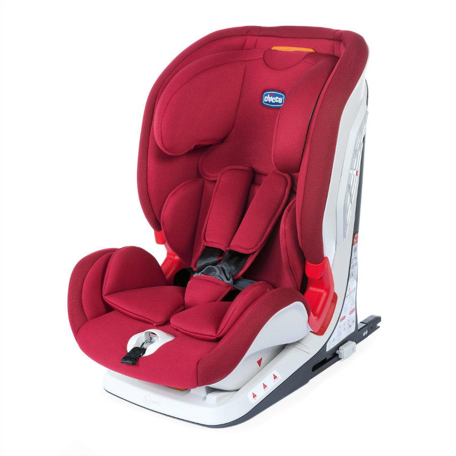 chicco Kindersitz Youniverse Fix Gr. 1/2/3 Red Passion