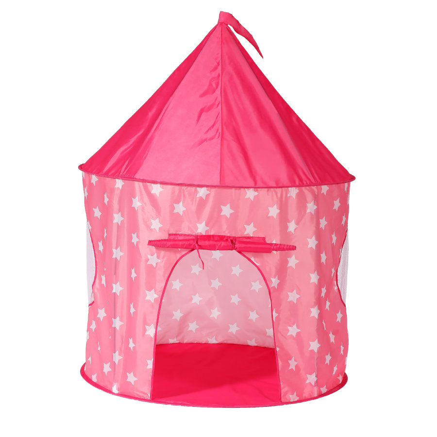 knorr® toys Spielzelt pink white stars