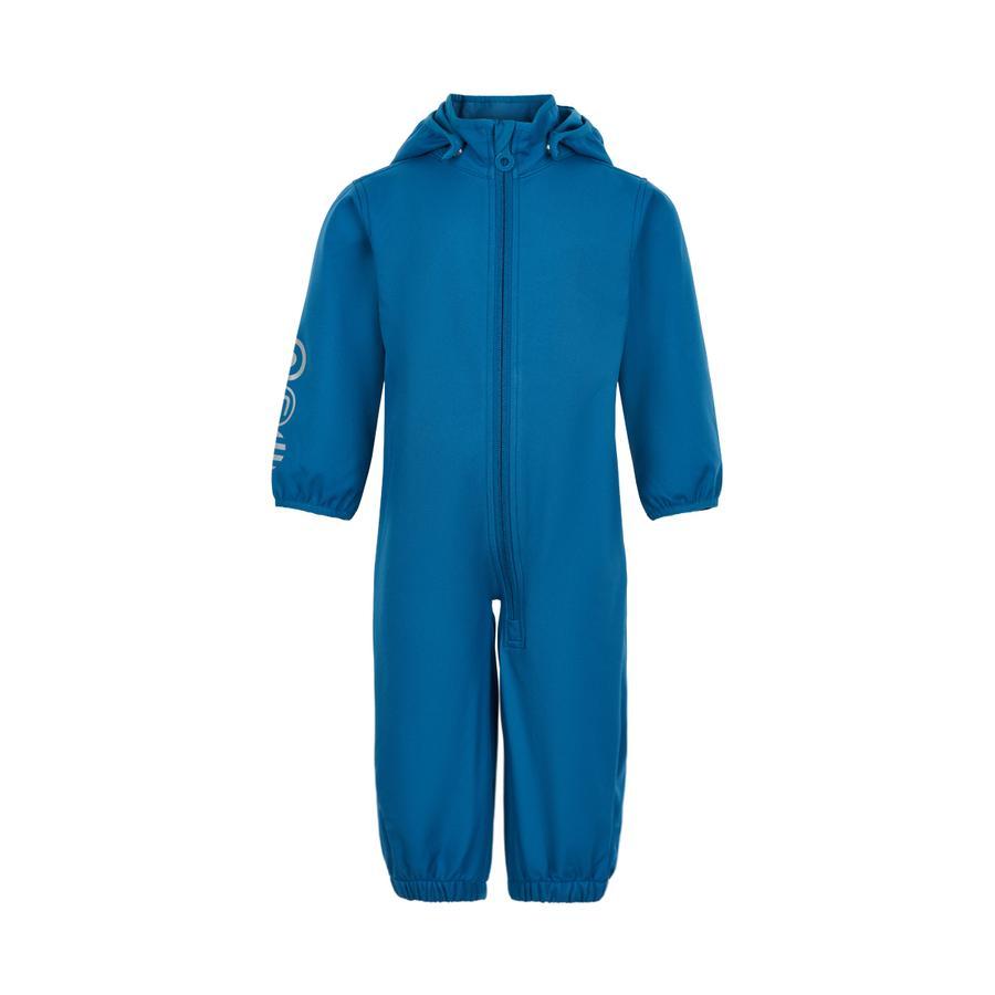 Minymo Softshell Anzug blue