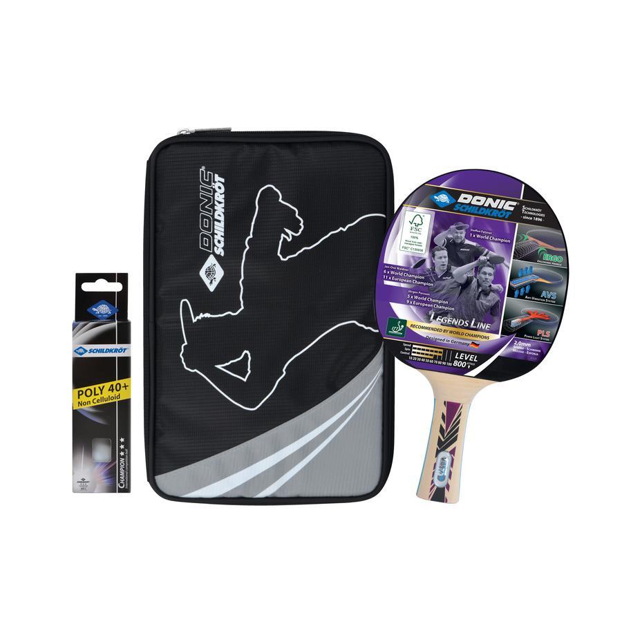 Schildkröt Tischtennis-Premium-Set Legends 300