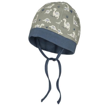 STACCATO Mütze soft olive gemustert